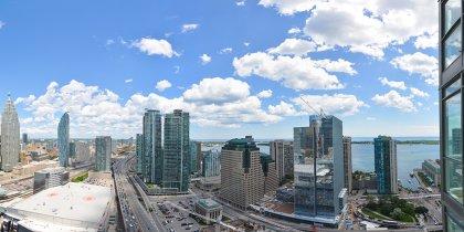 Panoramic East Views.