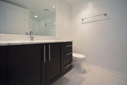 Main Bath With A 3-Piece & Frameless Stand-Up Shower Only.
