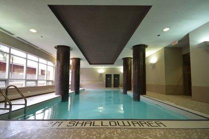 Ground Floor Indoor Pool With Jacuzzi Area.