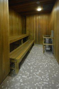 Ground Floor Indoor Pool With Sauna Area.