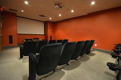 Ground Floor Theatre Room.