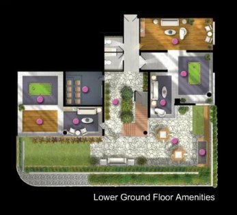 Lower Ground Floor Amenities.