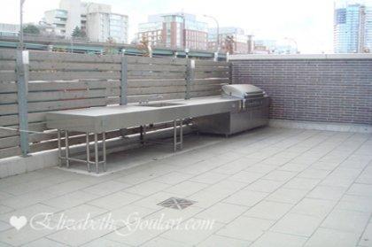Lower Ground Floor Outdoor Barbecue Area.