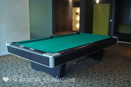 Lower Ground Floor Billiard Area.