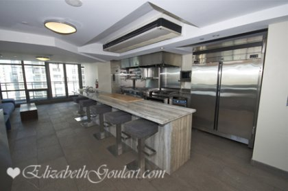 The Exclusive & Scenic 27th Floor SkyGarden With A Fully Equipped Party Room with Professional Chef Class Kitchen.