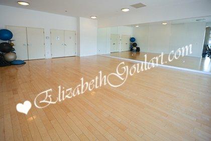 Ground Floor Yoga Studio.