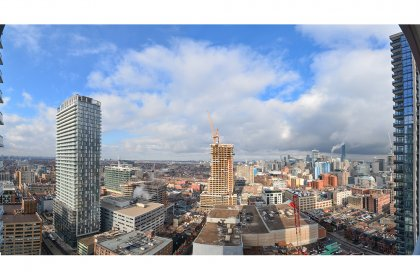 Panoramic North City Views.