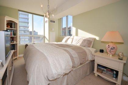 A Spacious Sized Master Bedroom With Lots Of Natural Light, A 3-Piece Ensuite With Stand-Up Shower & A Walk-In Closet.