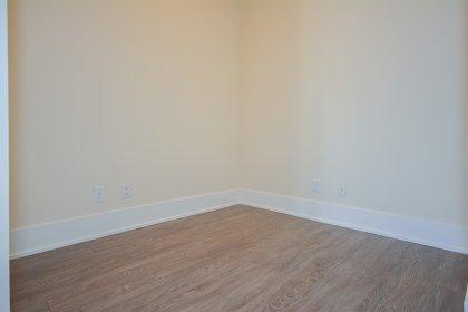 Den Area With Plank Laminate Flooring.