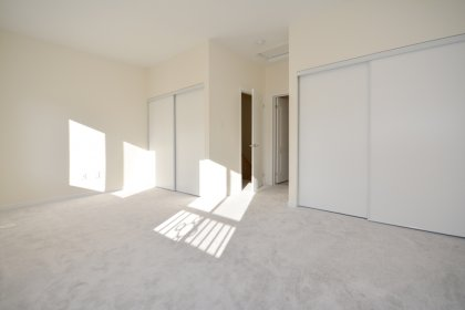 The Top Floor Master Bedroom Has A 4-Piece Ensuite, Separate Glass Shower & 2 Large Double Closets.