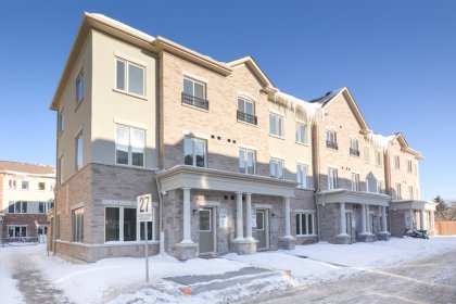 Welcome To The Bloom Park Townhomes By Menkes.