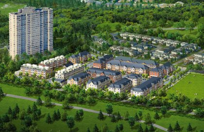Bloom Park Townhomes - Overview.