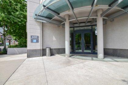 Building Entrance From Bathurst Street & Lakeshore Blvd.