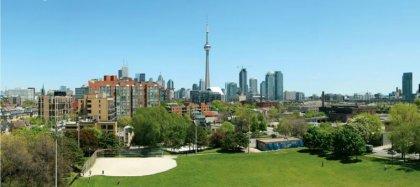 Unobstructed C.N. Tower & Stanley Park Views.