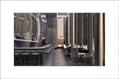 Future On-Site Restaurant & Bar Lounge By Famous Japanese Iron Chef Masaharu Morimoto.