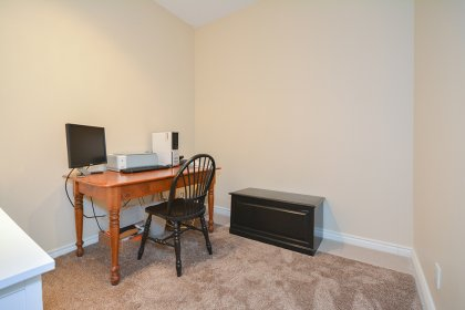 The Private Den Can Be Used As A Home Office or 2nd Bedroom / Guest Sleeping Area.
