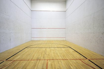 Indoor Basketball / Squash Court.