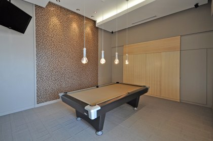 Ground Floor Billiard Area.