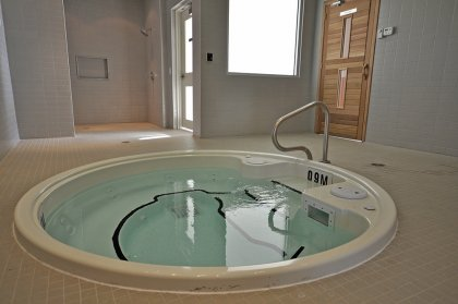 Ground Floor Jacuzzi Area.