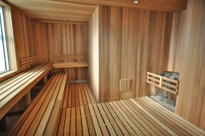 Ground Floor Sauna Area.