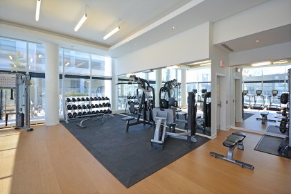 Ground Floor Fitness / Weight Area.