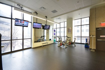 3rd Floor State-Of-The-Art Fitness / Weight Area.