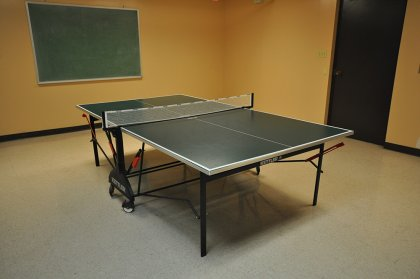 Ground Floor Squash Courts, Billiard/ Ping-Pong & Library Rooms.
