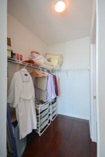 Spacious Sized Master Bedroom With A Walk-In Closet.