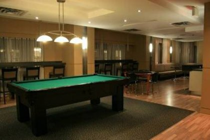 Party Room With A Billiard Table.