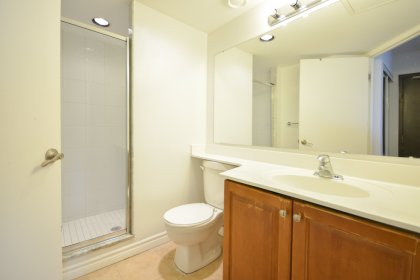 Main Bath With A 3-Piece & Separate Stand-Up Shower.