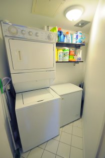Large Walk-In Sized Laundry & Storage Area Room.