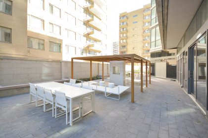 Ground Floor Private Outdoor Patio With Barbecues.