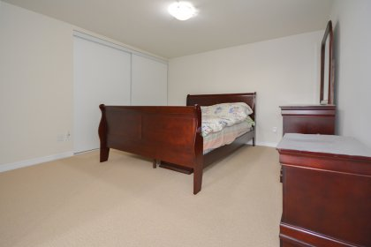 2nd Bedroom With A Glass Sliding Door & Large Closet.