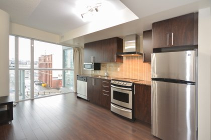 Designer Kitchen Cabinetry With Stainless Steel Appliances, Granite Counters & An Undermount Sink.
