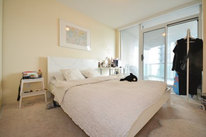 2nd Bedroom With A Large Closet & A Walk-Out To The Huge Private Balcony.