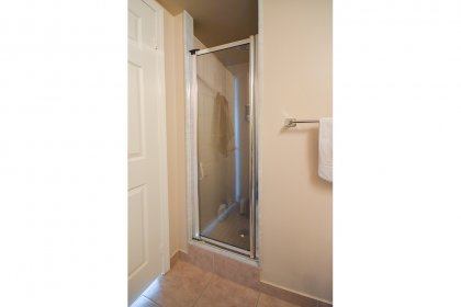 Main Bath With A 3-Piece & Stand-Up Shower.