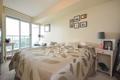 A Spacious Sized Master Bedroom With A 4-Piece Ensuite, Walk-In Closet & A Walk-Out Balcony.