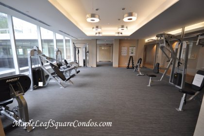 9th Floor - Fitness / Weight Areas.