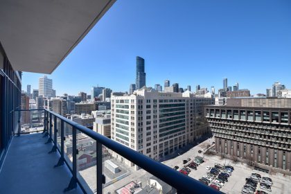 A Huge Private Balcony Facing North Unobstructed City Views.
