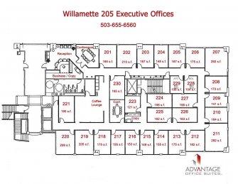 Executive Office Suite Floor Plan
