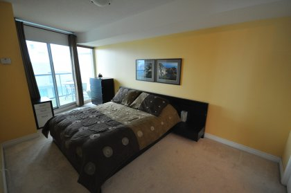 With Walk-In Closet, 4 Piece En Suite Bath & Walk-Out To Second Balcony