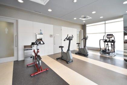 Ground Floor - Fitness / Weight Areas.