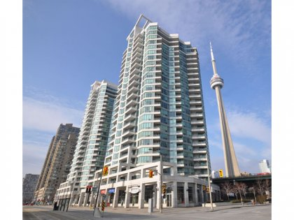 Welcome To The Riviera Condominiums at 230 Queens Quay West.
