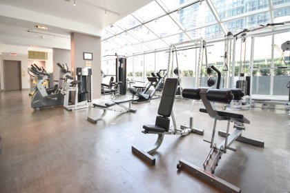 The Exclusive Amenities Include A Fitness Centre, Indoor Heated Pool & Jacuzzi.
