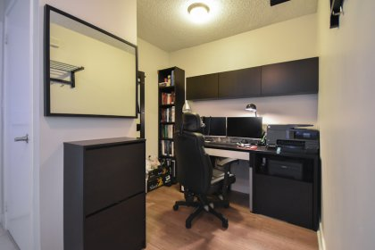 Separate Den Area Can Be Used As A Home Office Or 2nd Bedroom.