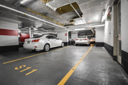 Tandem Parking Space For 2 Cars.