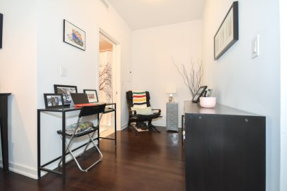 The Den Area Can Also Be Used As A Home Office Or Dining Area With Hardwood Flooring.