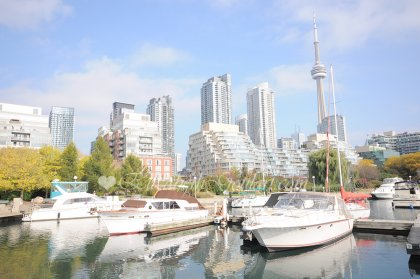 Minutes Walk To Toronto's Harbourfront.