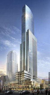 Welcome To The Aura Condominiums at 386 Yonge Street.