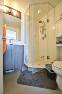 Master Ensuite With A 3-Piece & Stand-Up Shower.